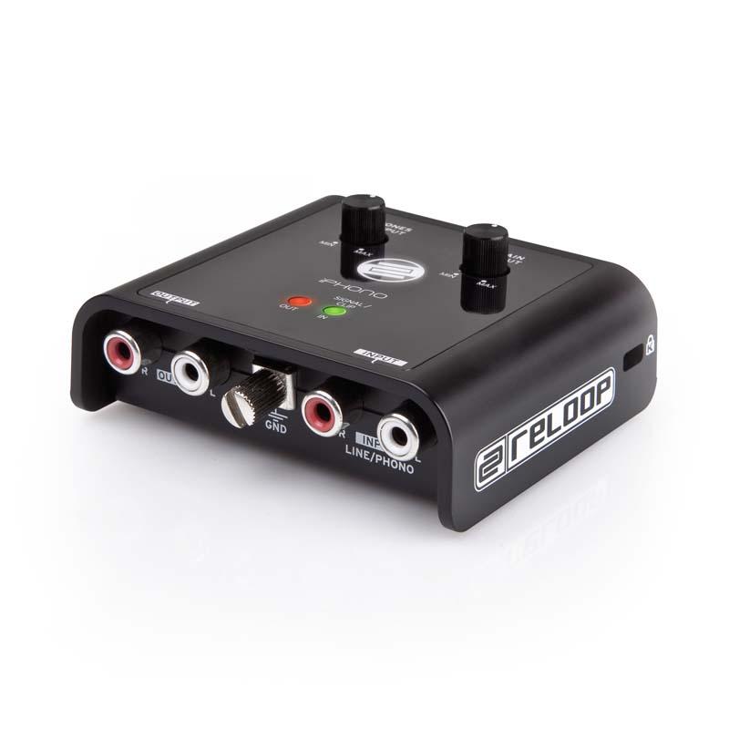 Reloop Iphono2 Usb Dj Recording Interface With Vinyl Phono