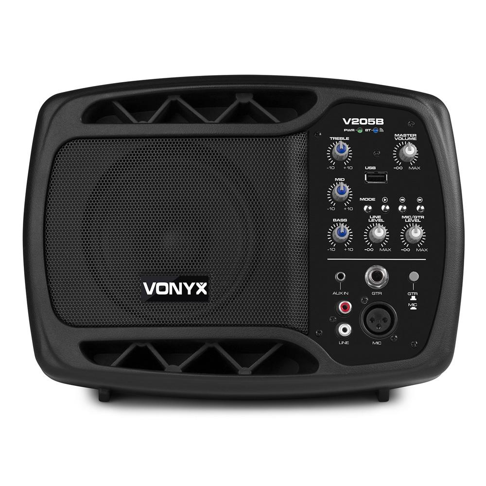 vonyx v205b personal monitor system bt usb for mic guitar avecorp. Black Bedroom Furniture Sets. Home Design Ideas